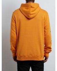 Volcom - Orange Supply Stone Pullover Hoodie - Black - L for Men - Lyst