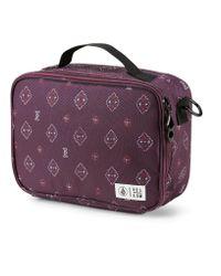 Volcom Purple Brown Bag Lunch Box