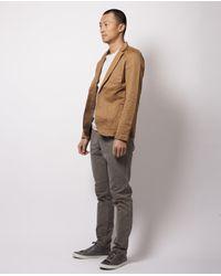 Scotch & Soda - Brown Khaki Short Blazer for Men - Lyst