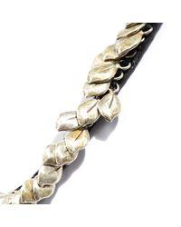 Goti - Metallic Leaves Necklace for Men - Lyst