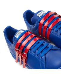 Adidas By Raf Simons - Blue Low-tops & Trainers for Men - Lyst