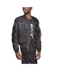 Marcelo Burlon - Black Rayen Alpha Jacket for Men - Lyst