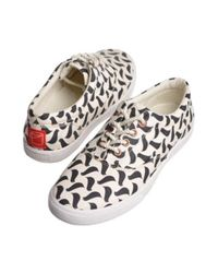 Bucketfeet - Multicolor Women Birds Birlinsloss15begw - Lyst