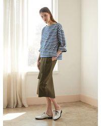 NILBY P - Natural Wrap Long Skirt Ka - Lyst