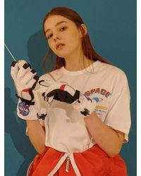 W Concept - Multicolor Apollo 11 Mini T-shirt(white) - Lyst