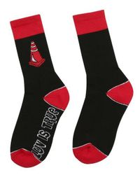 W Concept - [unisex] Sd Cone Socks Black for Men - Lyst