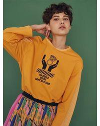 W Concept | Multicolor Handle Care Top Orange | Lyst