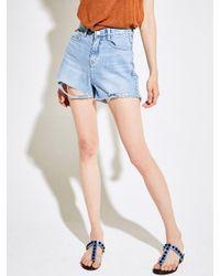 YAN13 - Multicolor Two Cut Jeans_denim - Lyst