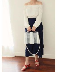 COMME.R | White Nude Bag_ 2colors | Lyst
