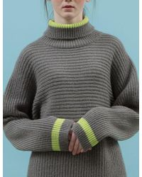 ANOTHER A - Orange Spring Lined Turtleneck Sweater 3colors - Lyst
