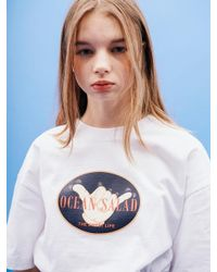 W Concept - [unisex] Shaka Sign T-shirt White - Lyst