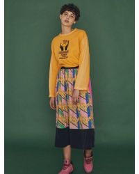 W Concept - Multicolor Handle Care Top Orange - Lyst