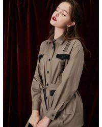 W Concept | Multicolor Point Lace Safari Jacket | Lyst