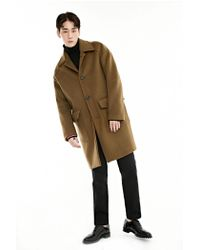 BONNIE&BLANCHE   Multicolor Single Overfit Coat_camel for Men   Lyst