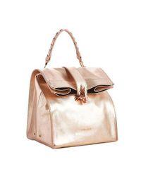 W Concept - Metallic Paper Bag - Lyst