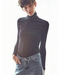 LIUNICK - Multicolor Product Basic Turtleneck Knit (black) - Lyst