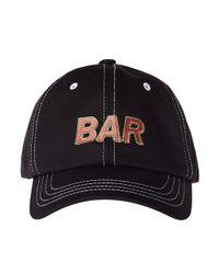 Margarin Fingers - Black Bar Cap for Men - Lyst