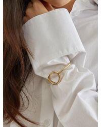 W Concept - Metallic Essence Bracelet_gold - Lyst