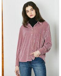 W Concept Semidull Shirt Pink