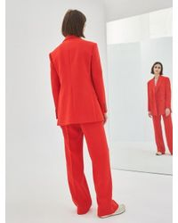COLLABOTORY - Baama6014m Nomcore Wide Pants_red - Lyst