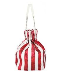 UNDER82 - Alice Shinning Pouch Red - Lyst