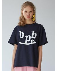 Bpb - Blue [unisex]smile B Boy Friend T Navy - Lyst