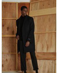 OWL91 - [unisex] Wool Cashmere Coat Black for Men - Lyst