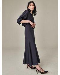 Bouton - Blue Mermaid Skirt Navy - Lyst