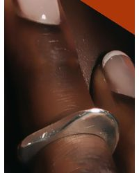 W Concept - Brown Pebble Bold Ring 12 - Lyst