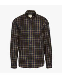 Life After Denim Black Matrix L/s Shirt for men