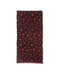 Whistles - Red Eclipse Woven Scarf - Lyst