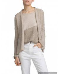 White + Warren - Multicolor Cashmere Convertible Wrap Cardigan - Lyst