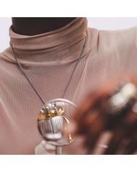 Yasmin Everley Jewellery - Metallic Gilded Scarab Necklace - Lyst