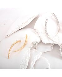 MARINA SKIA - Metallic The Viper Earrings Medium Silver - Lyst