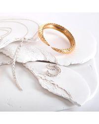 MARINA SKIA - Metallic The Viper Tail Ring 22ct Vermeil - Lyst