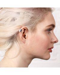 Maya Magal - Metallic Little Ear Cuff Silver - Lyst