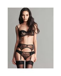 Fréolic London - Black Sophia Balconette Bra - Lyst