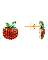 Latelita London - The Forbidden Apple Earring Red - Lyst