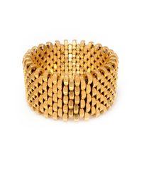 Alice Menter | Metallic Ruby Gold Cuff | Lyst