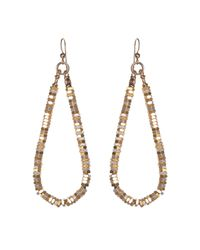 Alice Menter | Metallic Annie Mixed Earrings | Lyst