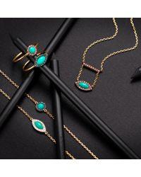 Elham and Issa Jewellery - Blue Awe Circle Diamond Ring - Lyst