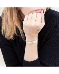 Nina Kastens Jewelry - Metallic Basic Bracelet Silver - Lyst