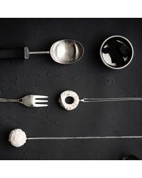 Tadam! Design - Multicolor Milky Doughnut Platinum Glaze Necklace - Lyst