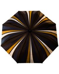 Raindance Umbrellas - Blue Cityslick Navy & Gold - Lyst
