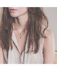 Enelle - Metallic Fraise Necklace - Lyst