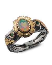 Emma Chapman Jewels - White Stella Mary Moonstone Ring - Lyst