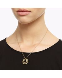 Myia Bonner - Metallic Small Gold Brilliant Diamond Necklace - Lyst