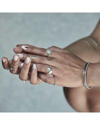 No 13 - Metallic Diamonds & Oxydised Silver - Lyst