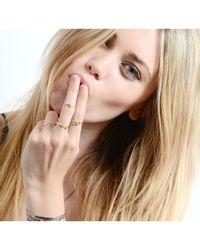 Lee Renee   Metallic Tiny Voodoo Ghede Ring Gold Vermeil   Lyst