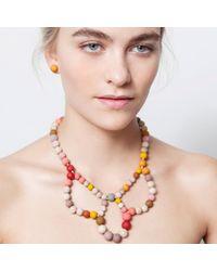 Hring Eftir Hring - Multicolor Ballerina Necklace Sunrise - Lyst